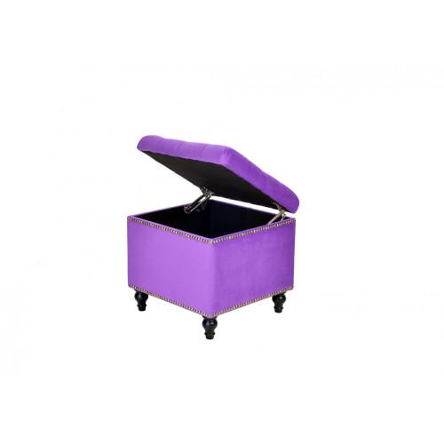A44-BKN-E27 Пуф Матера Фиолетовый
