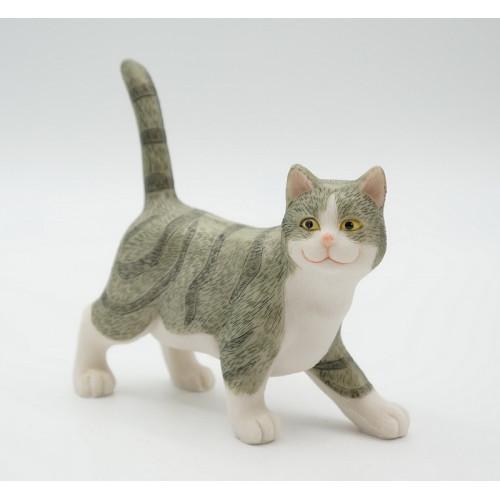 KT99-0044 Статуэтка Кошка (Отгружается по 2 шт)