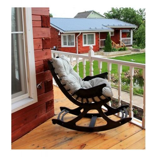 Кресло качалка Ниссе (коричневая)