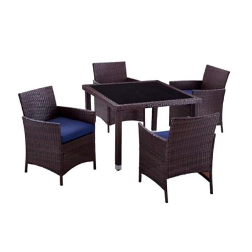 Комплект обеденный HELSINKI (стол + 4 кресла)