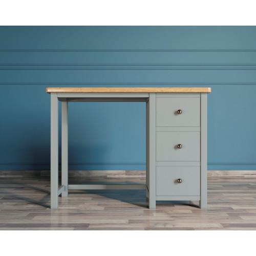 JV48ETG Малый кабинетный стол серый
