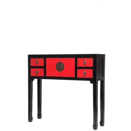 BF-20211 Ти-чжо-хон хеи - стол-консоль . Династия Мин