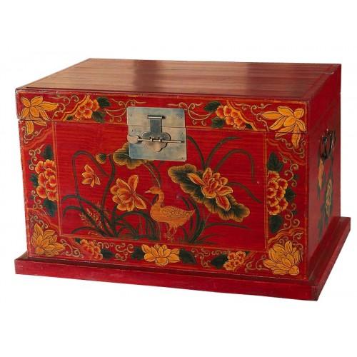 BF-21121 И-сян -традиционный платяной сундук с орнаментальной росписью. Династия Ци