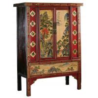 BF-20070 Гуй-шиян - шкаф, с пейзажной росписью. Династия Цин