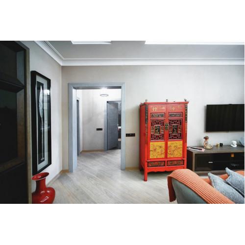 BF-20437 Гуй-традиционный шкаф. Красного цвета с росписными вставками
