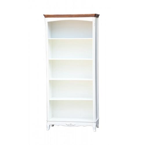 AS6637 (D71+M01) Книжный стеллаж коллекция White Rose
