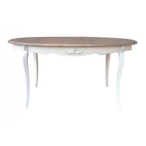 F6607 (H03+M01)Стол обеденный овальныйколлекция Marsel & Chateau