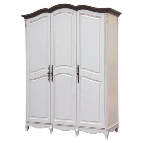 AS6683 (D71+M01)Шкаф 3-х дверный коллекция White Rose