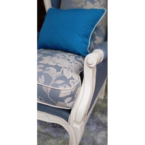 DF830 Blue Linen (M01) Кресло