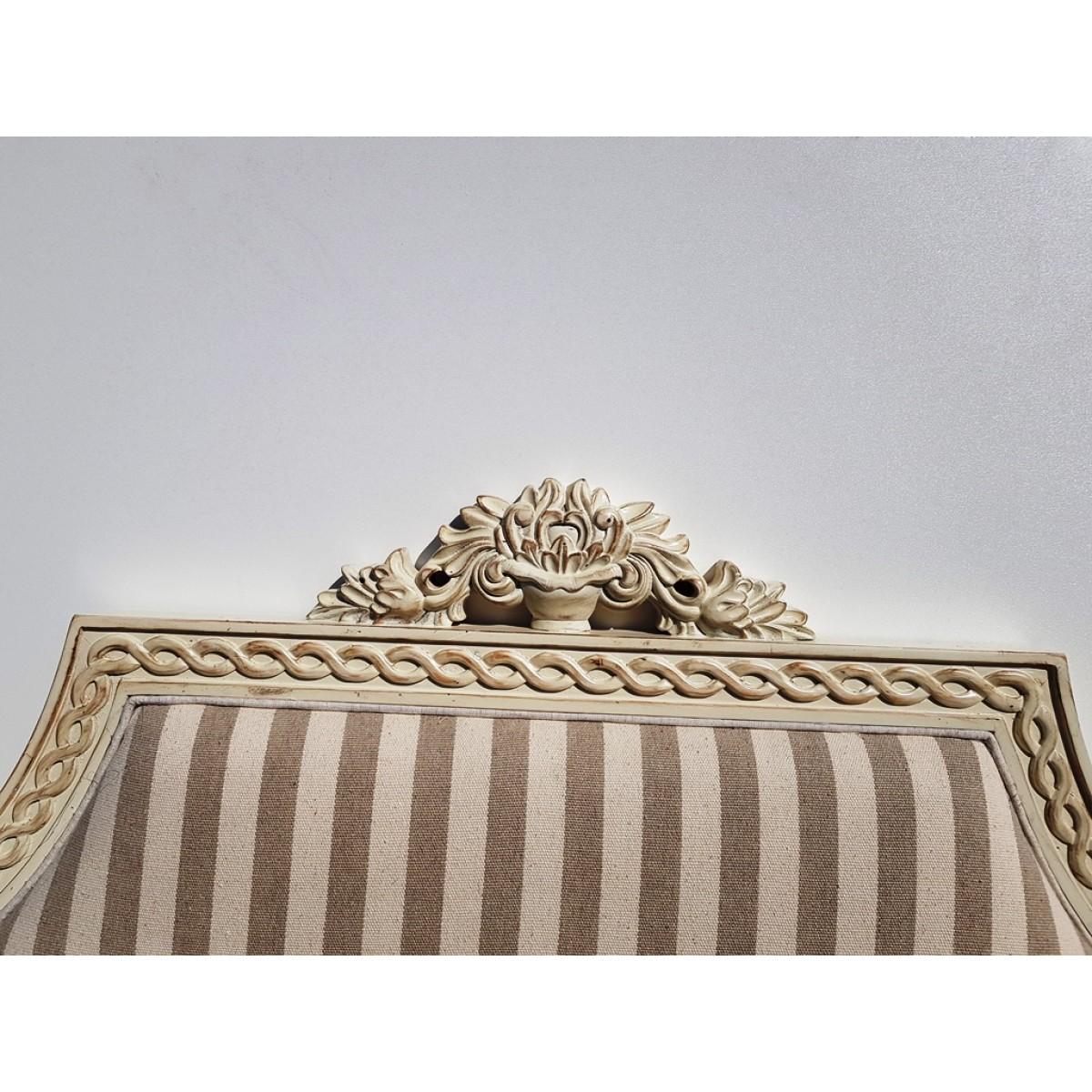 DF865-18 S2F12 Кровать коллекция Provence Noir&Blanc