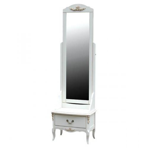 AS6630 Зеркало напольное коллекция White Rose