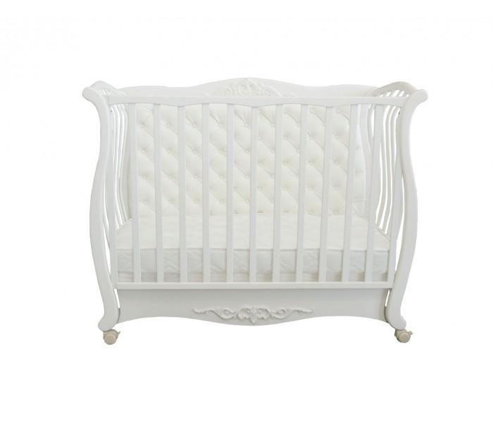 """Детская кроватка """"Белый лебедь"""""""