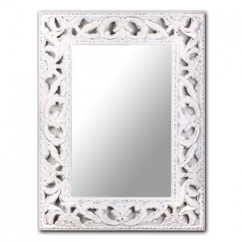 AN08-0003 Зеркало в белой раме