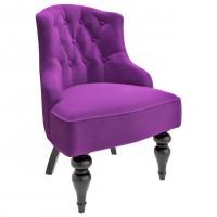 M08-B-E27 Кресло Шоффез фиолетовое