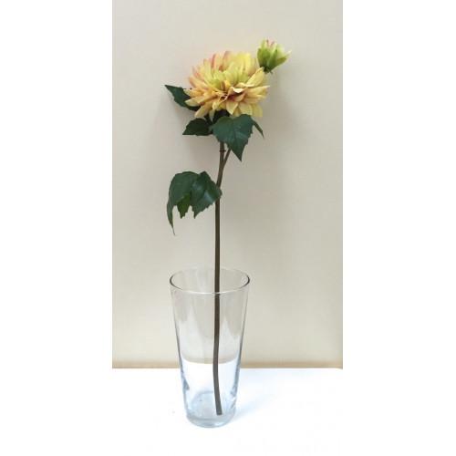 FL99-0016 Георгина  эксклюзивная желтая ( 2 цветка)
