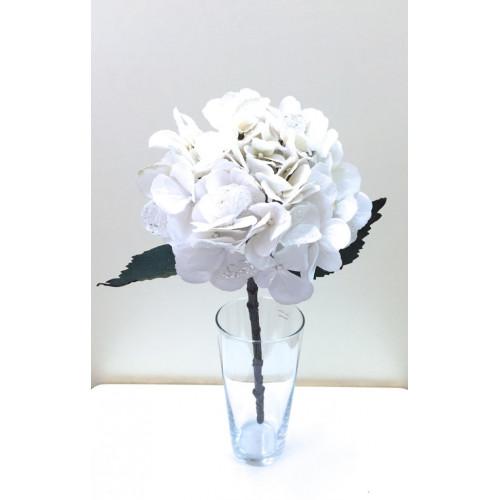 FL99-0042 Гортензия новогодняя белая
