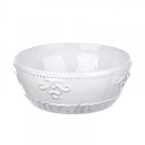 DB08-0005 Большой салатник из грубой керамики