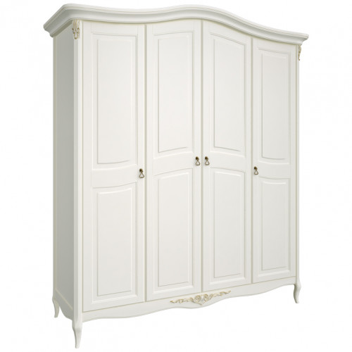 R124 Шкаф 4 дверный коллекция Romantic