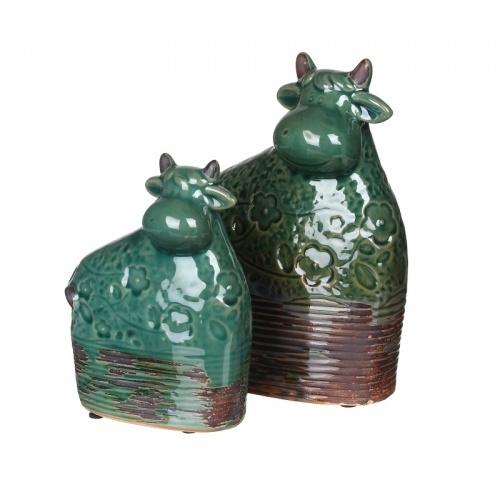IU99-0025 Набор из 2-х керамических коров