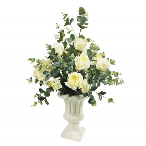 DRV2M Ваза с цветами Dolce rosa 70 см