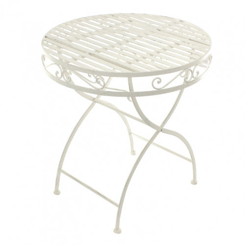 PL08-8668 Стол с кованным узором
