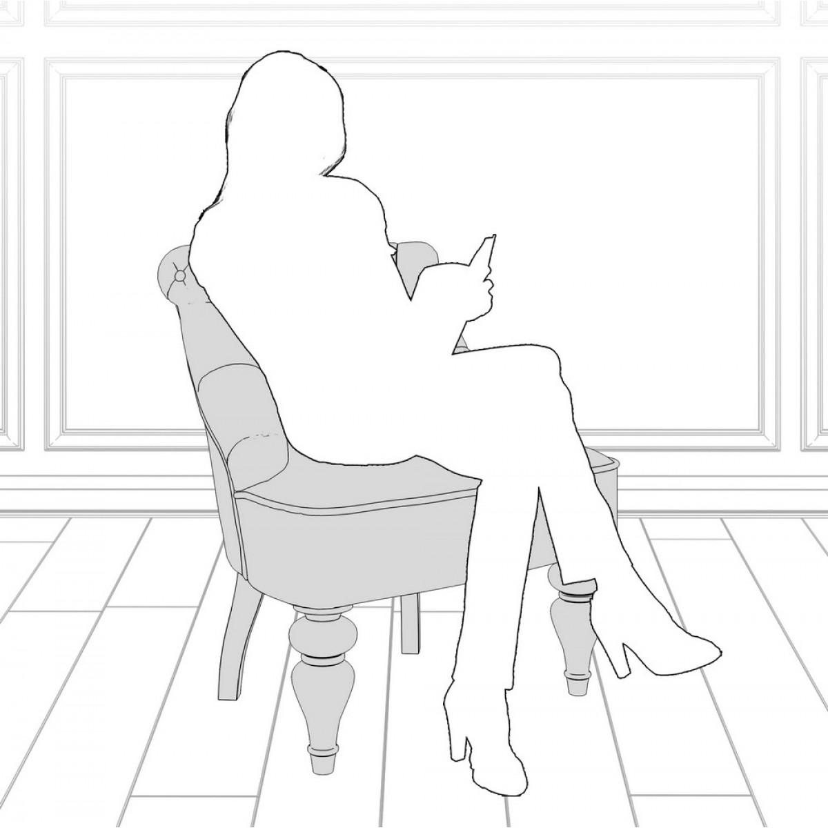 M13-W-B13 Кресло Крапо коллекция L'Atelier Du Meuble