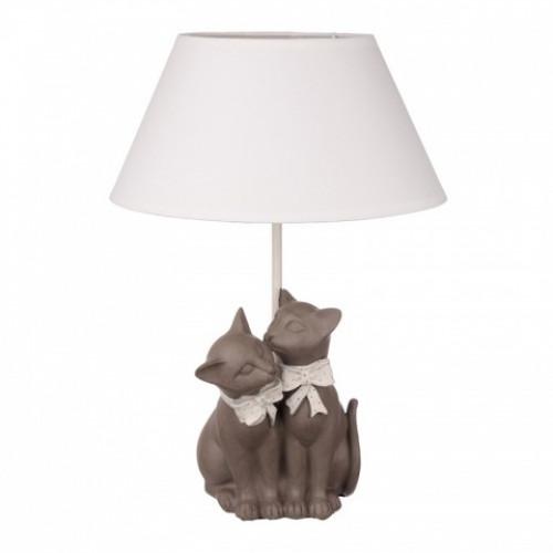 QJ99-0100 Лампа настольная кошки
