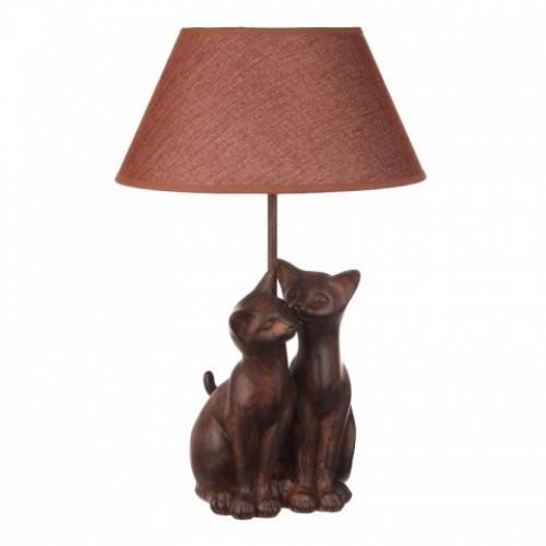 QJ99-0105 Лампа настольная кошки