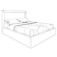 Кровати с подъемным механизмом K02