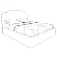 Кровати с подъемным механизмом K03