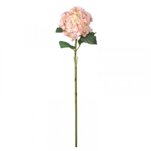 FL99-0051 Искусственный цветок Гортензия нежно-розовая