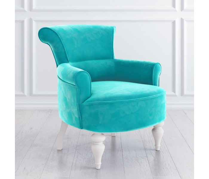 M11-W-B08 Кресло Перфетто голубой