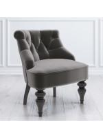 M13-B-B12 Кресло Крапо Серое