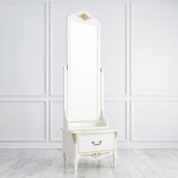 R143g Напольное зеркало коллекция Romantic Gold