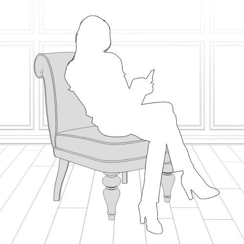 M16-B-0411 Кресло Лира коллекция L'Atelier Du Meuble