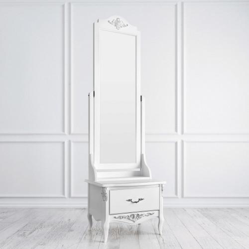 S143-K00-S Напольное зеркало коллекция Silvery Rome