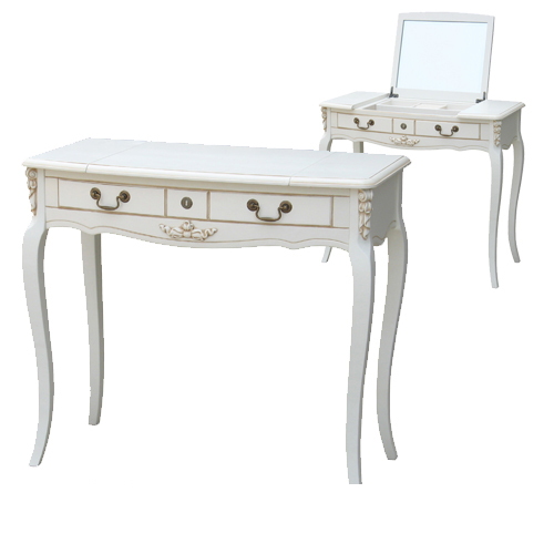 F6609 Туалетный столик с зеркалом коллекция White Rose