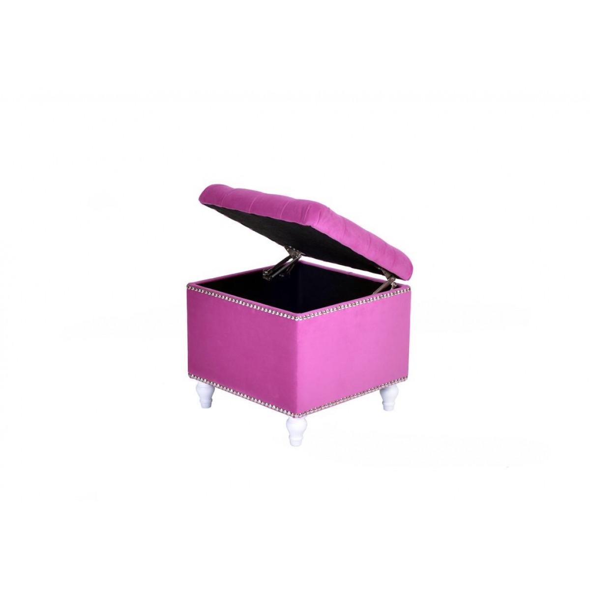 A44-WKN-E25 Пуф Матера Розовый