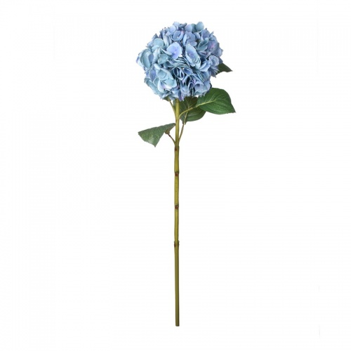 FL99-0050 Искусственный цветок Гортензия голубая 83 см (отгружается по 12 шт)