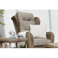 Кресла, пуфики из искусственного ротанга