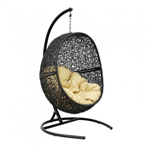 Кресло подвесное LUNAR BLACK Y0068KD