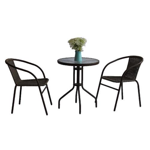 Комплект обеденный BISTRO  (стол + 2 кресла)