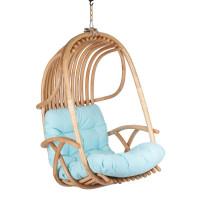 Подвесные кресла садовые качели из натурального ротанга
