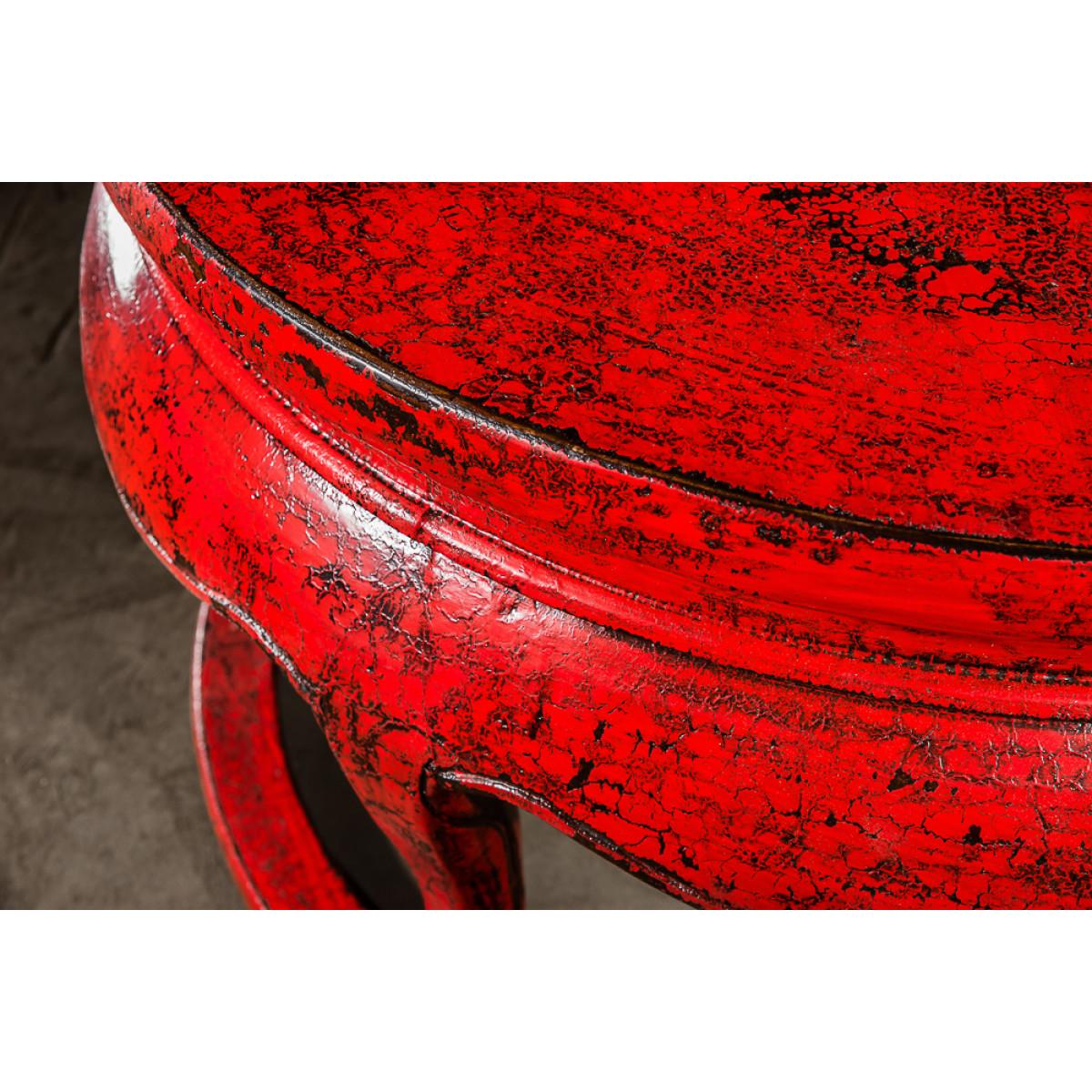 BF-20592 Юань Чжо -традиционный столик красного цвета. Династия Цин