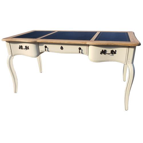 DF832 (H03+M01) Кабинетный стол коллекция Provence Noir&Blanc