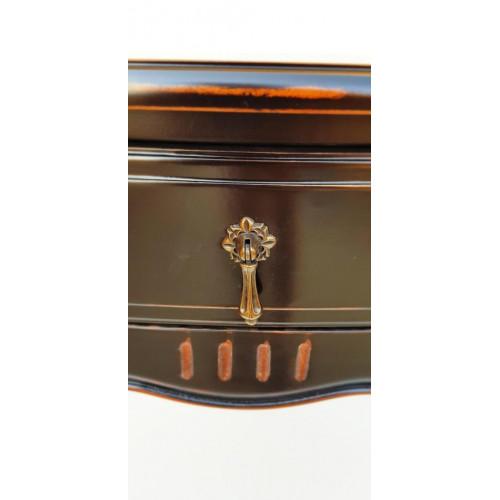 DF878 (S01) Прикроватная тумбаколлекция Provence Noir&Blanc