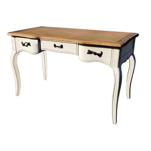 DF881D (H03+M01) Кабинетный стол коллекция Provence Noir&Blanc