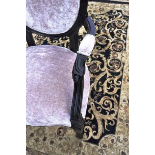DF824 (В88)Стулс подлокотником коллекция Provence Noir&Blanc