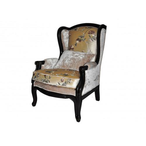 DF830 (S01) Кресло коллекция Provence Noir&Blanc
