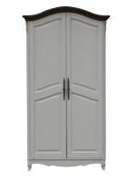 AS6682 (D71+M01)Шкаф 2-х дверный, коллекция White Rose